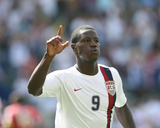 2007 CONCACAF Gold Cup: June 9, Trinidad & Tobago vs USA - Eddie Johnson Photographic Print by Tony Quinn