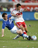 Jul 30, 2008, Everton FC vs Chicago Fire - Marco Pappa Photographic Print by Brian Kersey