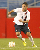 2007 CONCACAF Gold Cup: Jun 12, USA vs El Salvador - Clint Dempsey Photographic Print by T. Quinn