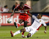 Jul 19, 2008, Real Salt Lake vs Chicago Fire - Robbie Findley Photographic Print by Brian Kersey