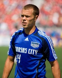 Jun 21, 2008, Kansas City Wizards vs Toronto FC - Jack Jewsbury Photographic Print by Paul Giamou