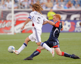 Aug 23, 2009, Real Salt Lake vs New England Revolution - Kyle Beckerman Photographic Print by Keith Nordstrom