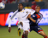 Jul 4, 2009, New England Revolution vs Los Angeles Galaxy - Darrius Barnes Photo by Robert Mora