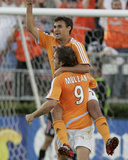 2007 CONCACAF Champions Cup Semifinals: Mar 15, Puchuca CF vs Houston Dynamo - Chris Wondolowski Photographic Print by Thomas Shea
