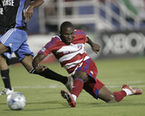 Oct 2, 2008, San Jose Earthquakes vs FC Dallas - James Riley Photographic Print by Rick Yeatts
