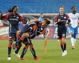 Aug 29, 2009, San Jose Earthquakes vs New England Revolution - Shalrie Joseph Photographic Print by Keith Nordstrom