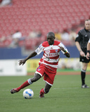2007 Pioneer Cup: Mar 11, Columbus Crew vs FC Dallas - Dominic Oduro Photo by Rick Yeatts