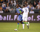 Aug 15, 2009, Seattle Sounders FC vs Los Angeles Galaxy - Steve Zakuani Photo by German Alegria