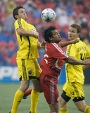 Sep 13, 2008, Columbus Crew vs Toronto FC - Chad Marshall Photographic Print by Paul Giamou
