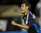 Aug 22, 2009, Kansas City Wizards vs San Jose Earthquakes - Chris Wondolowski Photo