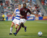 Jun 25, 2009, F.C. Dallas vs Colorado Rapids - Omar Cummings Photographic Print by Garrett Ellwood