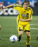 Sep 13, 2008, Columbus Crew vs Toronto FC - Brian Carroll Photographic Print by Paul Giamou