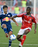 Jun 6, 2007, New York Red Bulls vs Toronto FC - Maurice Edu Photo by Paul Giamou