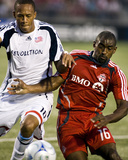 Aug 23, 2008, New England Revolution vs Toronto FC - Marvell Wynne Photographic Print by Paul Giamou