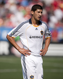 Jun 6, 2009, Los Angeles Galaxy vs Toronto FC - Omar Gonzalez Photographic Print by Paul Giamou