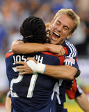 Jun 7, 2009, New York Red Bulls vs New England Revolution - Shalrie Joseph Photographic Print by Keith Nordstrom