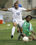 2007 CONCACAF Gold Cup Quarterfinals: Jun 17, Honduras vs Guadalupe- Julio Cesar Photo by Bob Levey