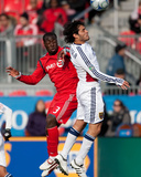 Oct 17, 2009, Real Salt Lake vs Toronto FC - Nana Attakora Photographic Print by Paul Giamou