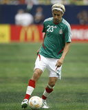 2007 CONCACAF Gold Cup Quarterfinals: Jun 17, Mexico vs Costa Rica - Adolfo Bautista Photographic Print by Bob Levey