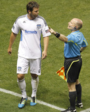 Jul 23, 2011, San Jose Earthquakes vs Real Salt Lake - Bobby Burling Photographic Print by George Frey