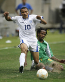2007 CONCACAF Gold Cup Quarterfinals: Jun 17, Honduras vs Guadalupe - Julio Cesar Photo by Bob Levey