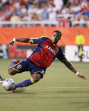Jul 28, 2008, Toronto FC vs Real Salt Lake - Robbie Findley Photo by Melissa Majchrzak