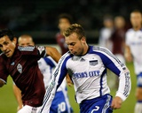 Sep 26, 2009, Kansas City Wizards vs Colorado Rapids - Michael Harrington Photographic Print