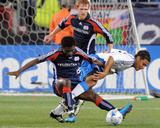 Aug 29, 2009, San Jose Earthquakes vs New England Revolution - Quincy Amarikwa Photographic Print by Keith Nordstrom