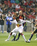 Oct 14, 2009, New York Red Bulls vs Real Salt Lake - Jeremy Hall Photographic Print by Melissa Majchrzak