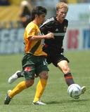 Jul 23, 2005, D.C. United vs Los Angeles Galaxy - Paulo Nagamura Photo by Steve Grayson