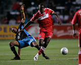 Jun 28, 2008, San Jose Earthquakes vs Chicago Fire - Bakary Soumare Photo by Brian Kersey