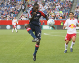 Jun 18, 2008, New York Red Bulls vs New England Revolution - Shalrie Joseph Photographic Print by Martin Morales