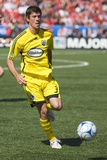 May 17, 2008, Columbus Crew vs Toronto FC - Brad Evans Photo by Paul Giamou