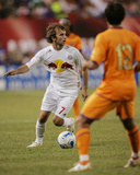 FC Barcelona on Tour USA 2006: Aug 12, New York Red Bulls vs FC Barcelona - Mike Magee Photographic Print by Rich Schultz