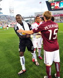 Jul 25, 2009, New York Red Bulls vs Colorado Rapids - Jacob Peterson Photo by Garrett Ellwood