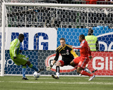 Apr 4, 2009, Seattle Sounders FC vs Toronto FC - Steve Zakuani Photographic Print by Paul Giamou