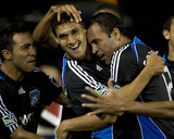 Aug 22, 2009, Kansas City Wizards vs San Jose Earthquakes - Chris Wondolowski Photographic Print