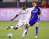 May 30, 2009, Kansas City Wizards vs Los Angeles Galaxy - Edson Buddle Photographic Print by Robert Mora