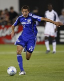 Oct 11, 2008, New England Revolution vs Kansas City Wizards - Davy Arnaud Photo by Scott Pribyl
