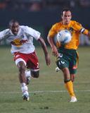 Jul 4, 2006, New York Red Bulls vs Los Angeles Galaxy - Marvell Wynne Photo by Steve Grayson