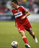 Jun 27, 2009, Chicago Fire vs Tigres UANL - Marco Pappa Photo by Brian Kersey