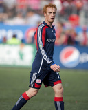 May 23, 2009, New England Revolution vs Toronto FC - Jeff Larentowicz Photographic Print by Paul Giamou
