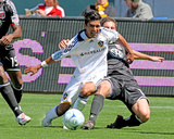 Mar 22, 2009, D.C. United vs Los Angeles Galaxy - AJ DeLaGarza Photographic Print by Robert Mora