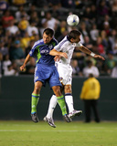 Aug 15, 2009, Seattle Sounders FC vs Los Angeles Galaxy - Patrick Ianni Photographic Print by German Alegria