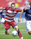 Mar 29, 2009, Chivas USA vs FC Dallas - Kenny Cooper Photographic Print by Rick Yeatts
