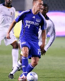 May 24, 2008, Kansas City Wizards vs Los Angeles Galaxy - Jack Jewsbury Photographic Print by Robert Mora