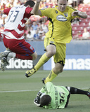 Jun 20, 2009, Columbus Crew vs FC Dallas - Chad Marshall Photo by Rick Yeatts