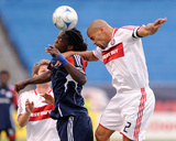 2009 Conference Semifinals Game One: Nov 1, Chicago Fire vs New England Revolution- Shalrie Joseph Photographic Print by Keith Nordstrom