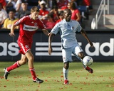 Aug 23, 2009, Colorado Rapids vs Chicago Fire - Omar Cummings Photographic Print by Brian Kersey
