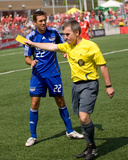 Jun 21, 2008, Kansas City Wizards vs Toronto FC - Davy Arnaud Photo by Paul Giamou